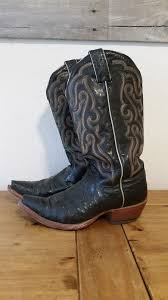 womens quill boots nocona boots womens custom black quill ostrich cowboy boots