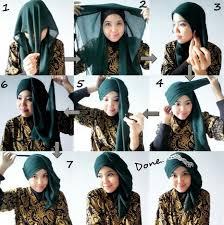 tutorial jilbab segi 4 untuk kebaya tutorial hijab kebaya cara memakai hijab kebaya simpel nan cantik