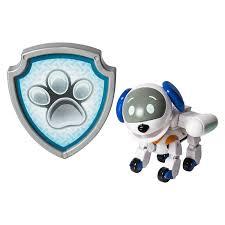amazon paw patrol action pack pup u0026 badge robodog toys u0026 games
