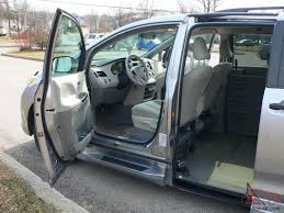 sienna handicap wheelchair van