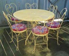 ice cream table and chairs vintage ice cream parlor table and chair set vintage ice cream