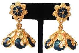 kerala earrings kerala style palakka earrings kalanjali collections