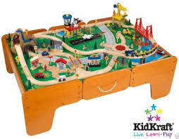 Wooden Train Table Plans Free by Easy Wood Shelves Kids Train Table Plans Free