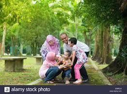 happy family garden family playing at outdoor garden park happy southeast asian
