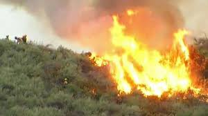 Wildfire Radar by Brush Fire At Camp Pendleton Scorches 760 Acres 95 Percent