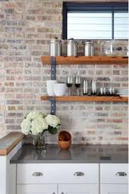brick kitchen ideas i like the brick and the counter tops but qould chamge the range