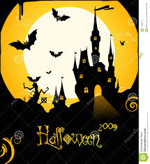 halloween photography backgrounds halloween flyer background with castle and bats royalty free stock