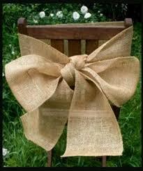Vintage Wedding Chair Sashes Best 25 Burlap Chair Sashes Ideas On Pinterest Wedding Chair