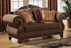 Traditional Sofas With Wood Trim Wehanghere