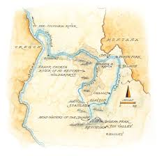 Map Of Missouri River Carved By Water Sun Valley Magazine Sun Valley Magazine