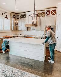 what color quartz countertops with cabinets quartz counter tops kitchen update ourfauxfarmhouse