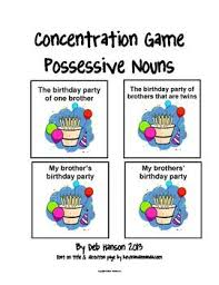 34 best nouns images on pinterest singular possessive