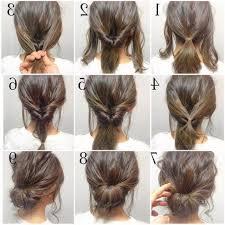 Einfache Frisuren by Einfache Frisuren Für Mittellanges Haar Quadratische Gesichter