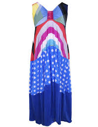 twirly little girls maxi dresses 70 u0027s beach colorful stripes
