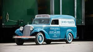 Parts Delivery Driver Jobs A Formula 1 Legend U0027s Vintage Mercedes Panel Truck Is The World U0027s