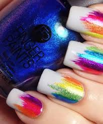 19 rainbow nail designs that u0027ll make a statement rainbows