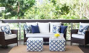 White Patio Furniture Cushions Design Ideas - White wicker outdoor furniture