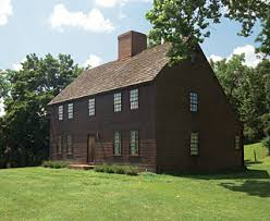 new england saltbox house a bit of new england in pennsylvania