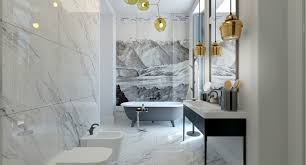 Minimalist Decor by Smart Tips Renovating Spacious Bathroom Interior Designs With