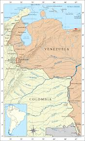 Venezuela Map Colombia U2013venezuela Border Wikipedia
