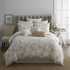 cool comforter sets with elegant calm brown color with beautiful