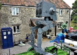 forces sci fi nut 42 to sell his 16ft replica of