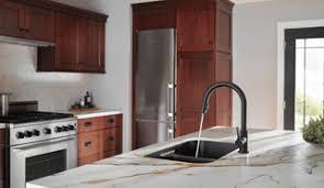 Matte Black Kitchen Faucet Single Handle Pull Kitchen Faucet 9159 Bl Dst Delta Faucet