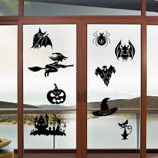 Witch Home Decor Aliexpress Com Buy Happy Halloween Cauldron Spider Witch Wall
