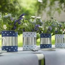 Tin Can Table Decorations Best 25 Crafts With Tin Cans Ideas On Pinterest Tin Can Art