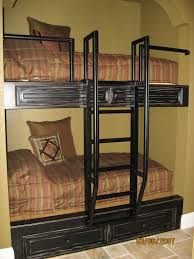 Built In Bunk Bed Plans Try This Built In Bunk Beds Galore
