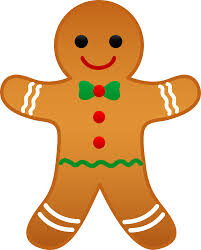 printable gingerbread man outline clip art library