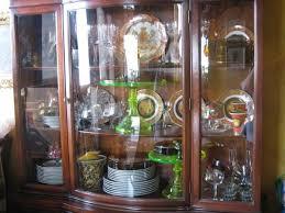 Venetian Glass Display Cabinet China Crystal On Display