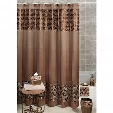 bathroom curtain ideas for shower stunning shower curtain and window curtain sets shower curtain