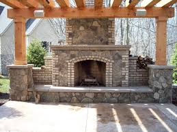 outdoor fireplace designs plans and ideas beauty and safety first