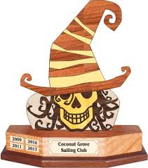 halloween intarsia woodworking project perpetual sailing trophy
