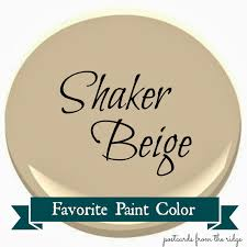 benjamin moore shaker beige favorite paint color postcards