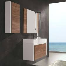 Solid Wood Bathroom Vanities Vanities Modern Solid Wood Vanity Contemporary Wood Bathroom