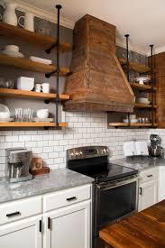 Open Shelving In Kitchen Ideas Open Shelving Kitchen Interior Design