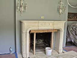 serendipity refined blog french replica limestone fireplace