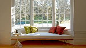 bay window bench kitchen traditional with banquette seating window