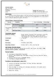 resume for freshers engineering electronics best format ideas on