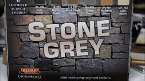 stone grey lifecolor acrylic colors set youtube