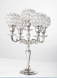 amazon com 5 arm crystal candelabra wedding centerpieces