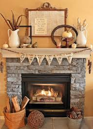 how to decorate the fireplace for thanksgiving the at stylish