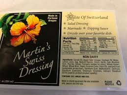 martin u0027s swiss dressing 12oz bottle u2014 swiss hibiscus and