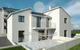 Doppelhaus Doppelhaus Hälfte In Primošten Mit Garten Und Meerblick