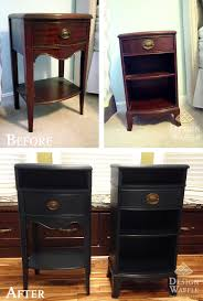 how to make nightstands taller design waffle blog pinterest