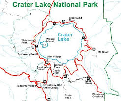 map of oregon near crater lake crater lake national park travel guide at wikivoyage