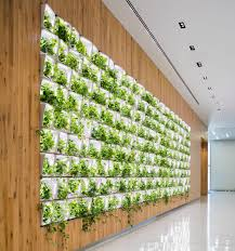 living wall actively cleans the air inside new emergency call