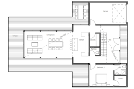 small modern house plans one floor picture cottage house
